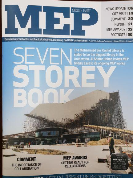 ASU Full range of MEP works UAE |  Mohammed bin Rashid Library | MBR Library