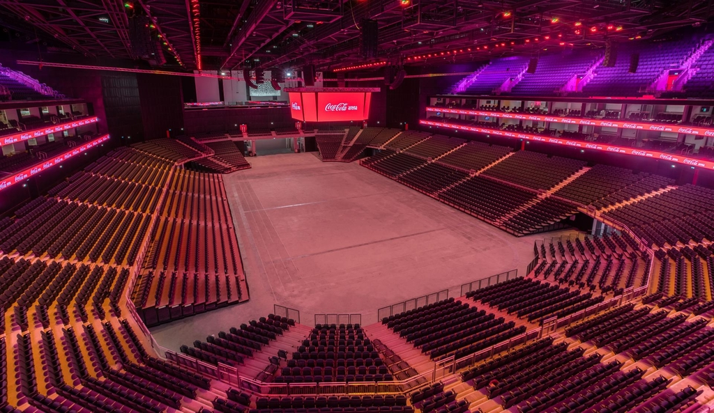 Coca-Cola Arena | Full range of MEP services UAE